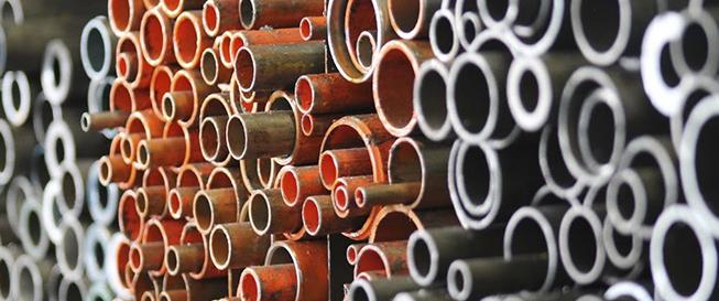 steel tubing stacks